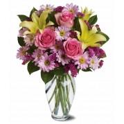 Buquê com flores nobres especial - entrega garantida